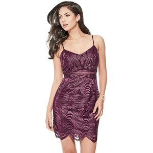 Brand New Guess Embroidery Dress